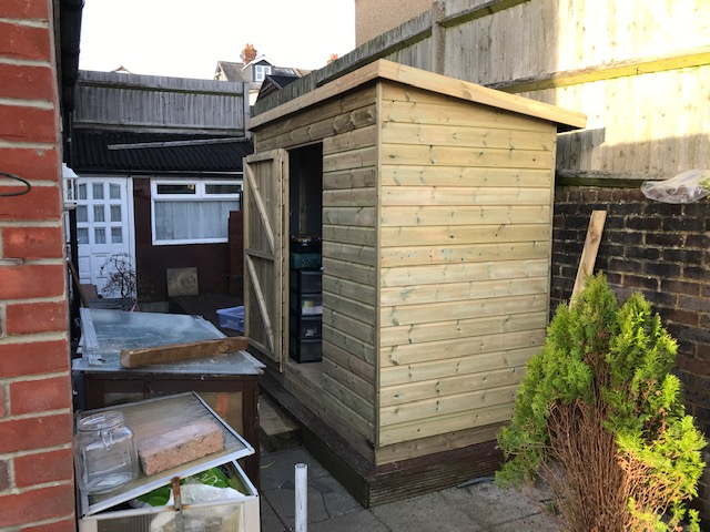 garden fencing companing makes sheds in Burgess Hill