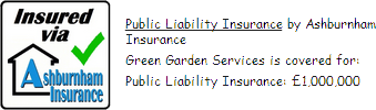 We have Public Liability Insurance